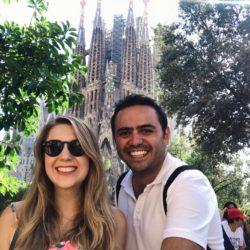 2019 İspanya Gezisi. Barselona La Sagrada Familia